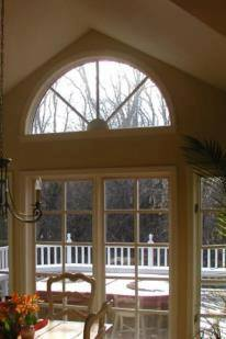 glass arch window
