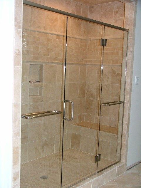 Frame Less Shower Enclosures | American Window & Glass LLC